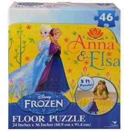 "Disney Frozen Floor Puzzle (46-Piece) 24"" x 36"" (New Style)"