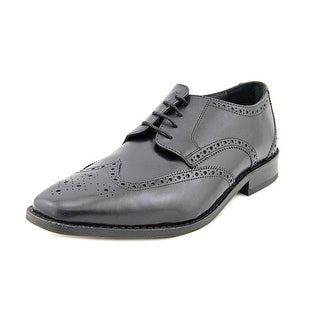 Florsheim Castellano Wing (WGOX) Men 3E Wingtip Toe Leather Black Oxford