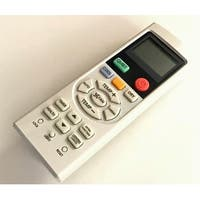 OEM Haier Remote Control Originally Supplied With: HSU09XCKG, HSU09XCKW, HSU12VHGDBG, HSU12XCKG, HSU18VCKG, HSU18VCKW
