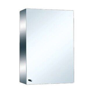 Medicine Cabinet Brushed Stainless 21 3/4 Surface Mount Renovator's Supply