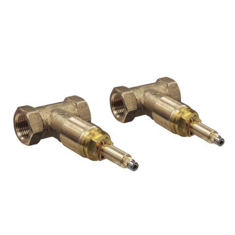 """Rohl A5039L 1/2"""" Valves Rough-In For Wall Mount Lever Set - Natural"""