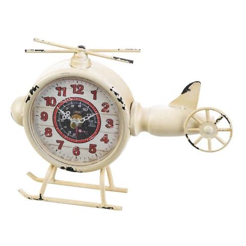 Aviation Desk Clock