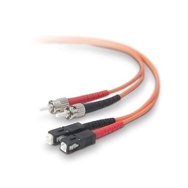 Belkin Components - Duplex Fiber Optic Cbl Sc-St 10Ft
