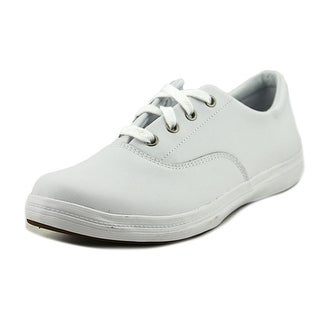 Grasshoppers Janey II Round Toe Leather Sneakers