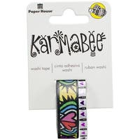Hearts Pattern By Karmabee - Paper House Washi Tape 2/Pkg