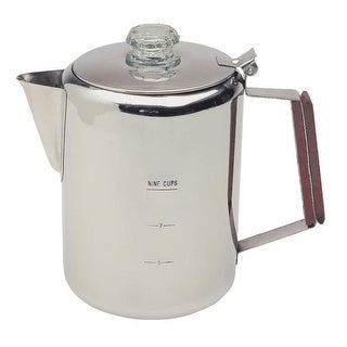 Texsport 13215 Stainless Steel Percolator