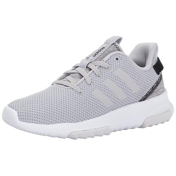 Rechazado Espinoso Observación  Shop Adidas Neo Women Cf Racer Tr W Road-Running-Shoes,Grey Two/Grey  Two/Black,9 M Us - Overstock - 25367633