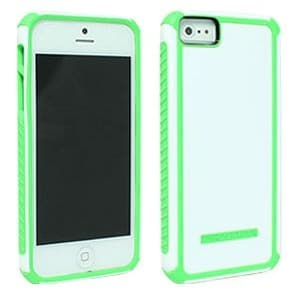 Body Glove - Tactic Case for Apple iPhone 5 - White / Lime
