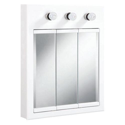 Design House 532374 24 Quot Framed Triple Door Mirrored