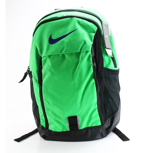 Shop Nike Green Black Brasila 7 Men s Polyester Backpack Accessory ... 7a85fcdb97ceb