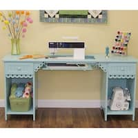 Arrow 1009 Olivia Sewing Cabinet in Light  Blue