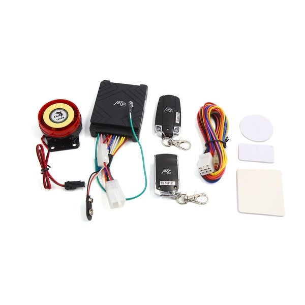 Motorcycle Anti-theft Security Alarm System Remote Control Engine Start