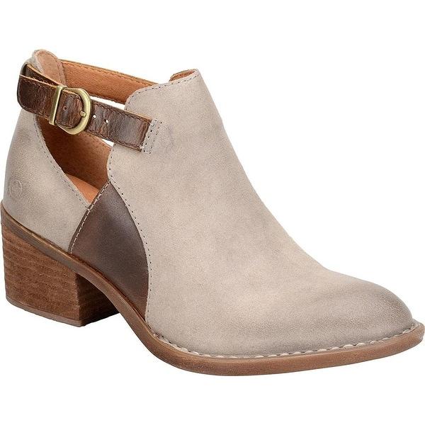 B.O.C Womens Carin Leather Almond Toe Ankle Fashion Boots