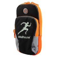 Wellhouse Authorized Night Light Phone Holder Running Jogging Sports Arm Bag L