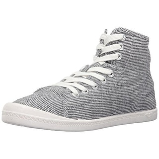 Roxy Womens Rory Mid Fashion Sneakers Canvas