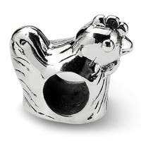Sterling Silver Reflections Chicken Bead (4mm Diameter Hole)
