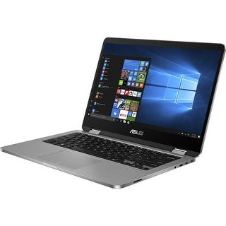 "Manufacturer Refurbished - Asus TP401NA-UH21T 14"" Touch Laptop Intel Pentium N4200 1.1GHz 4GB 64GB SSD W10"