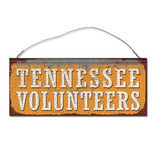 University of Tennessee Volunteers Small Tin Sign