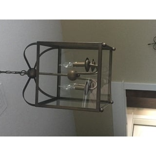 Angelo Antique Copper Lantern Chandelier