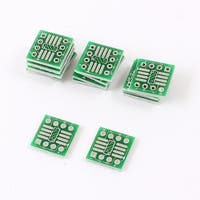 15 x SMD 0.65mm Pitch to 1.27mm Pitch IC DIP PCB Board Adapter Socket Plate