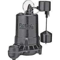 Flotec E50VLT Professional Series Submersible Cast Iron Sump Pump, 1/2 HP