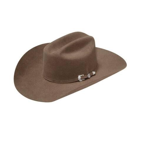Ariat Western Cowboy Hat Adult 20X Fur Self Band Buckle Set
