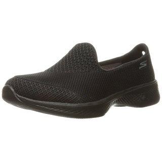 Skechers Performance Women's Go Walk 4 Propel Walking Shoe, Black