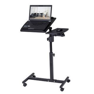 Adjustable Mobile Rolling Laptop Desk Free Shipping