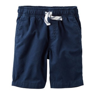 Carter's Baby Boys' Pull-On Canvas Shorts, 18 Months