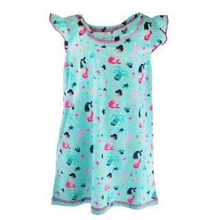 Rene Rofe Toddler Girl's Mermaid Night Shirt Gown