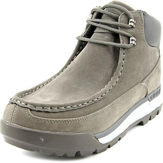 Lugz Breech Men Round Toe Synthetic Gray Boot