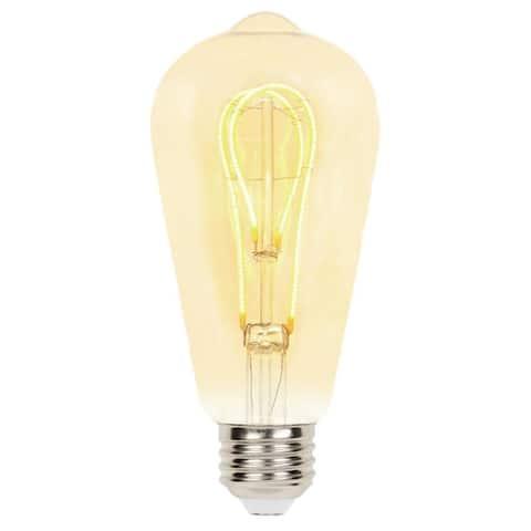 Westinghouse 5125000 Single 5 Watt ST20 Medium (E26) LED Bulb - Amber
