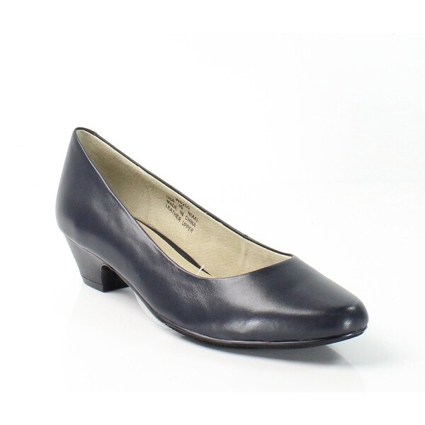 Propet NEW Navy Blue Women's Shoes Size 10N Taxi Leather Pump