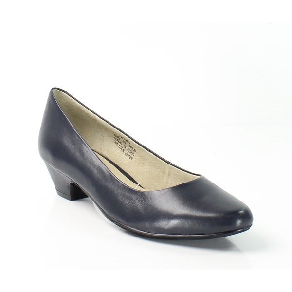 Propet NEW Navy Blue Women's Shoes Size 9N Taxi Leather Pump