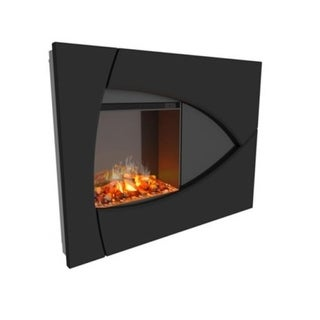 Round Stainless Steel Wall Mount Fireplace Free Shipping