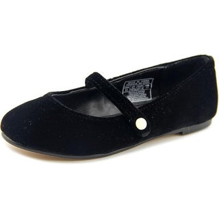 Polo Ralph Lauren Alyss MJ Round Toe Suede Mary Janes