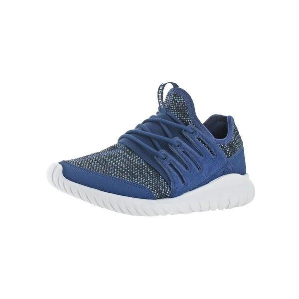 Adidas Boys Tubular Radial Trainers Big Kid Performance - mystery  blue tactile blue white 11ea787a9e8a