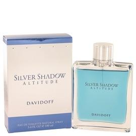 Silver Shadow Altitude by Davidoff Eau De Toilette Spray 3.4 oz - Men