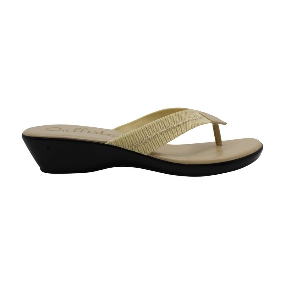 Callisto Womens Windham Open Toe Casual Slide Sandals