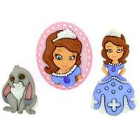Disney Sofia The First - Dress It Up Licensed Embellishments