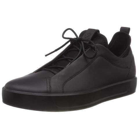 ECCO Mens Soft 8 Low Top Lace Up Fashion Sneakers