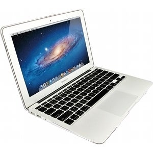 "Macally AIRSHELL11 Macally Clear Hardshell Protective Case For 11"" Macbook Air - MacBook Air - Clear - Silica Gel"