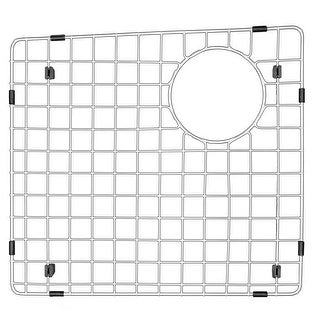 "Karran Stainless Steel Bottom Grid fits QT-711 and QU-711 - 15-1/4"" x 14-1/4"""