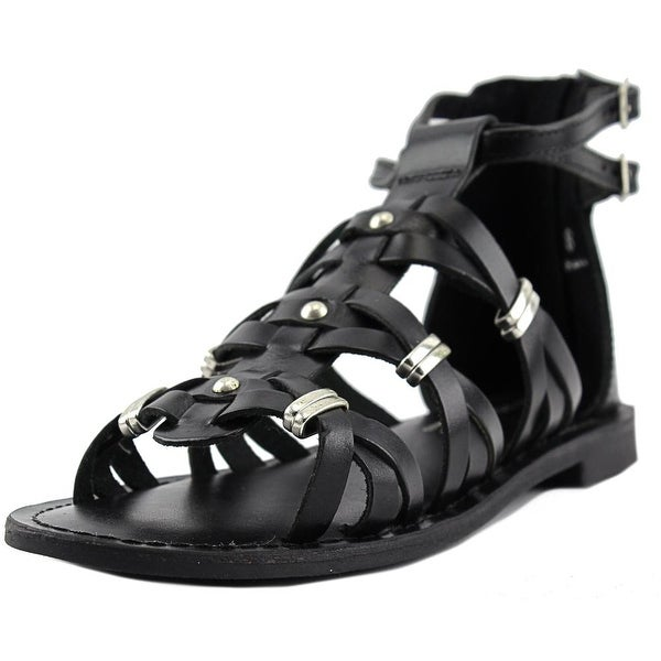 Very Volatile Roman Women Open Toe Leather Gladiator Sandal
