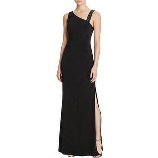 Laundry by Shelli Segal Womens Evening Dress Beaded Sleeveless