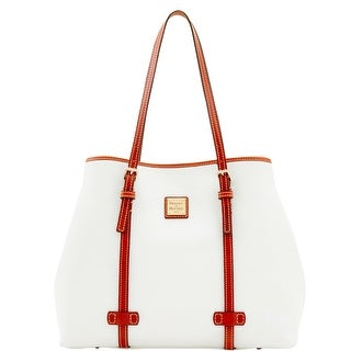 Dooney & Bourke Pebble Grain Side Snap Tote (Introduced by Dooney & Bourke at $298 in May 2017) - White