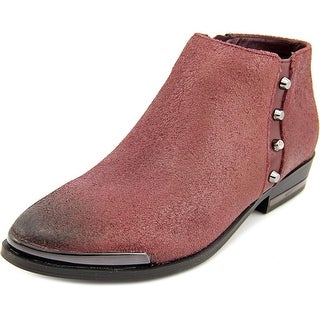 Fergie Indigo Pointed Toe Synthetic Ankle Boot