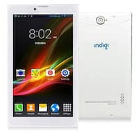 "Indigi® 7"" Android 4.4 KitKat 3G Factory Unlocked 2-in-1 DualSIM SmartPhone + TabletPC w/ WiFi & Bluetooth Sync (White)"