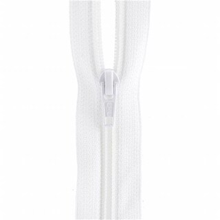Coats - Thread & Zippers All-Purpose Plastic Zipper 22 in.-White