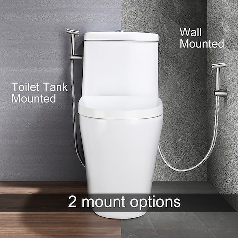 Handheld Bidet Sprayer Bathroom Cloth Diaper Sprayer Kit - 8' x 10'